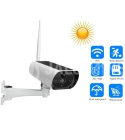Välitingimustes kasutatav IP kaamera WIFI päikesepatareiga